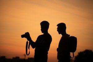 Twee fotografen